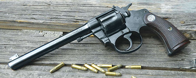 The Colt Police Positive Target .22 is one of the most well-balanced rimfire revolvers you'll ever shoot.