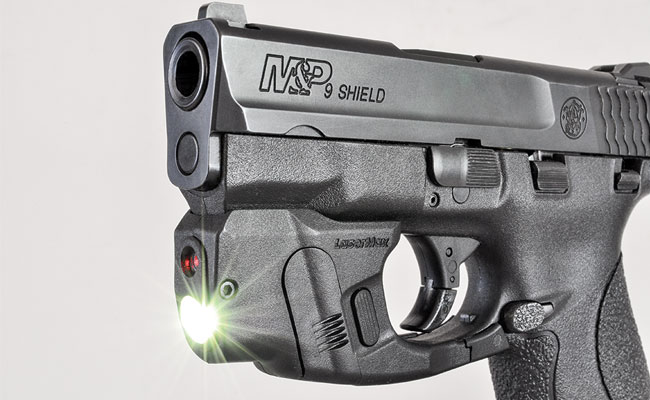 LaserMax's CenterFire Features New Gripsense Technology