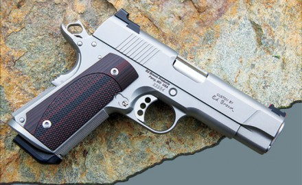 Ed Brown's new compact combines an Officer's frame with a Commander slide to create an ideal carry 9mm 1911.