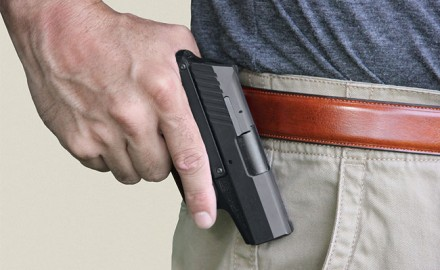 Keeping your firearm close at hand.