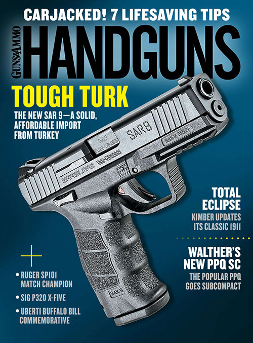 Now on the Newsstands: Handguns April/May 2018 Issue