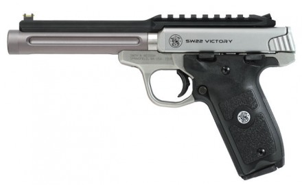 Tactical Solutions is now offering their RIDGE-LITE barrel and rail upgrade for the Smith & Wesson SW22 Victory Pistols.