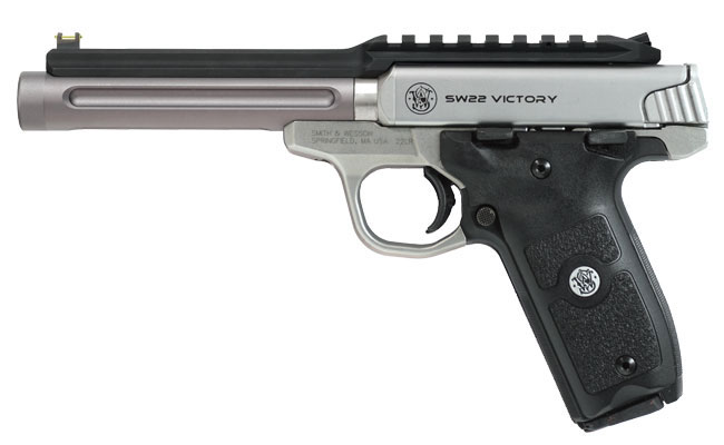 Barrel and Rail Upgrade for your Smith & Wesson SW22 Victory Pistols