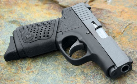 Kahr's CT380 gets an updated grip and a new Cerakote finish, making a great carry gun even better.
