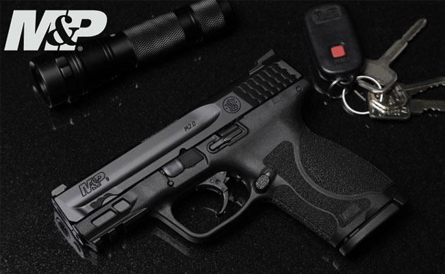 """M&P M2.0 Compact Pistol Series Now Available with 3.6"""" Barrel 82867"""