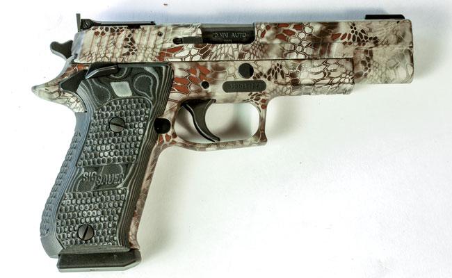 Review: SIG Sauer P220 Hunter 10mm Auto