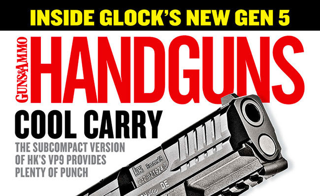 Now on the Newsstands: Handguns June/July Issue 2018 Issue