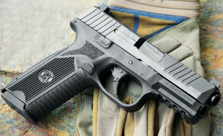 FN America's NEW 509 pistol combines modern styling with a century-long history of military firearms production.