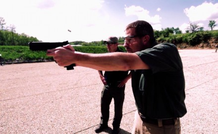 James Tarr and Richard Nance discuss what to look for when choosing a handgun for competition
