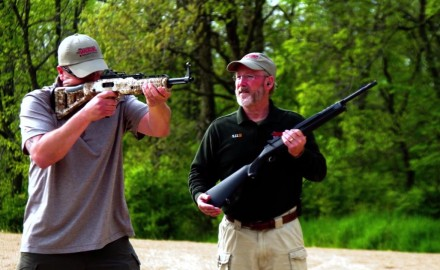 Richard Nance and J. Scott Rupp highlight a pair of carbine rifles that would make good home