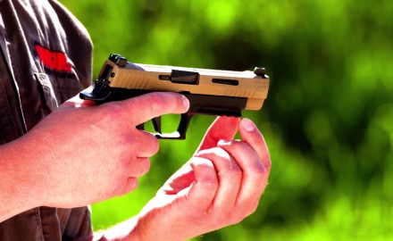 Richard Nance reviews the P320 X-VTAC pistol from SIG.