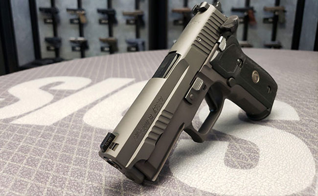 SIG SAUER Introduces P229 SAO Pistol to Legion Series