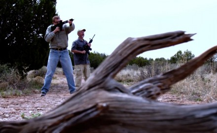 James Tarr and J. Scott Rupp have a red dot versus rifle scope showdown.