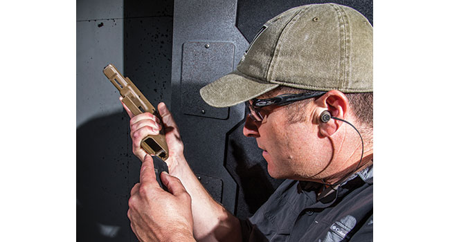 Kyle Lamb's Reload drill focuses on this critical defensive handgun skill. It runs you through not one but two reloads in the same drill, reinforcing the ability to access and load spare ammo.