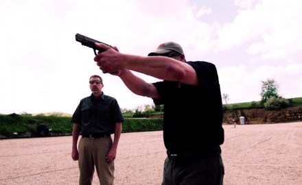 Richard Nance and James Tarr discuss top handgun choices for home defense.