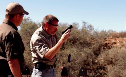 James Tarr and Richard Nance discuss practice vs training including when it comes to reloading.