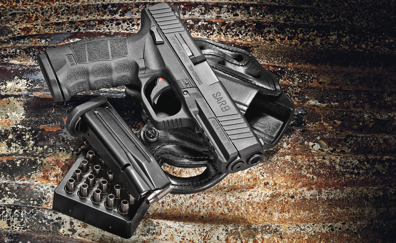 The new SAR 9 is a quality-built, smooth-shooting, striker-fired pistol that's well worth a look.