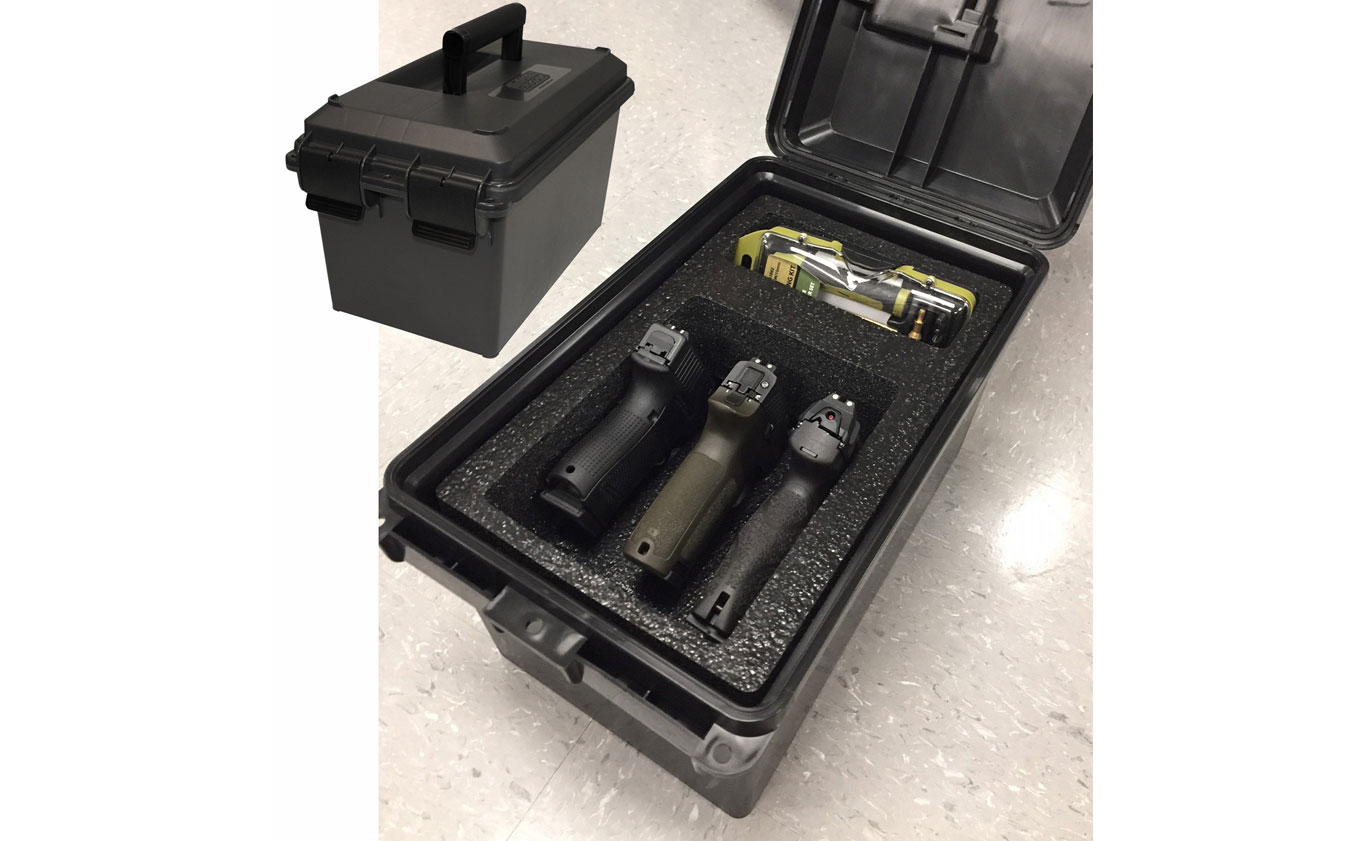 Take Pistols To The Range With MTM Handgun Cases