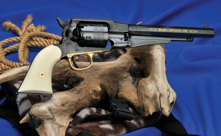 To honor Buffalo Bill Cody and his colorful life, Uberti is introducing a copy of his beloved 1858 Remington revolver.