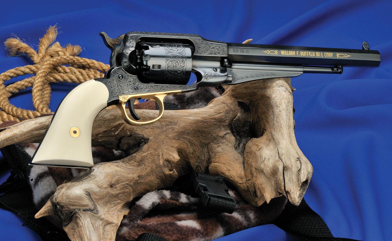 Uberti's 1858 Remington Honoring Buffalo Bill Cody