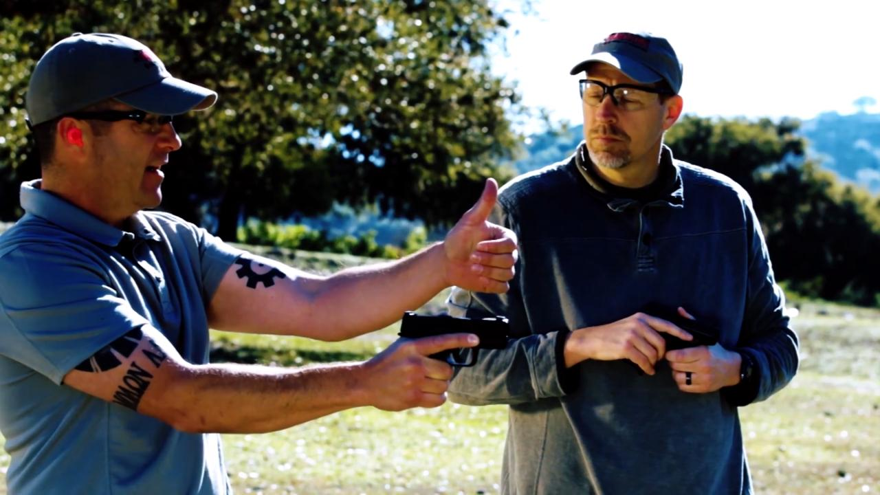 Grip Techniques to Minimize Handgun Recoil