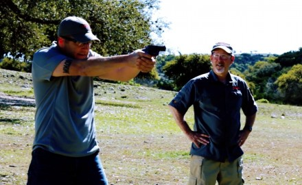 Richard Nance and Scott Rupp discuss recoil when using revolvers.