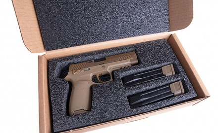 SIG SAUER, Inc. announced the limited release of the M17-Commemorative Edition of the U.S. Army's M17 official service pistol, a variant of the SIG SAUER P320.