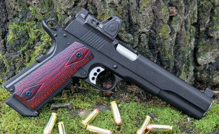 Ed Brown's new LS10 is a standout in the growing field of long-slide 10mm handguns.
