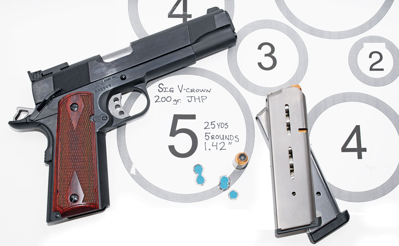 Rock River's Basic Limited 1911 is a finely crafted gun that's also a solid shooter.