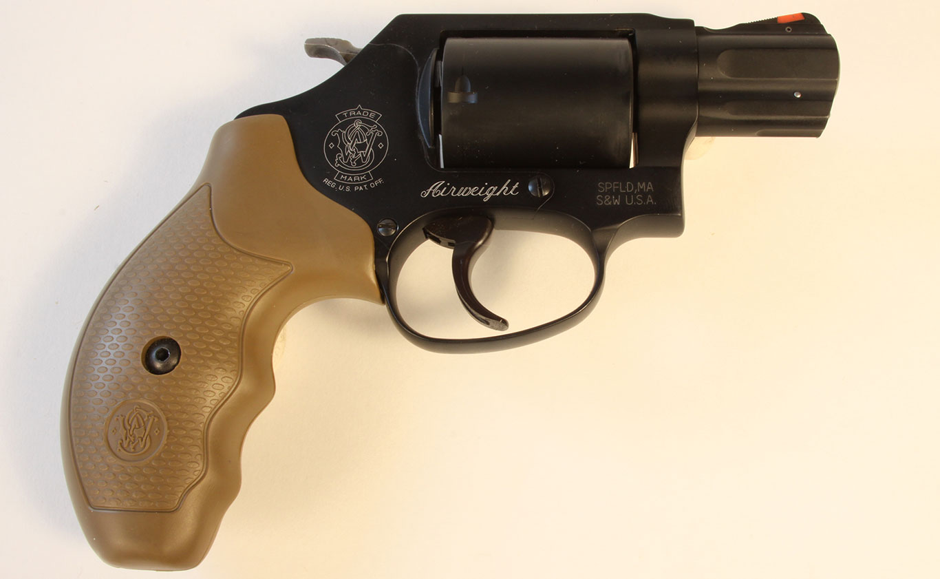 The company's J-frame Airweight series dates back to the 1950s when these guns—chambered first to .38 Special—were built from aluminum frames and cylinders.