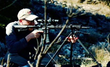 James Tarr and Richard Nance head to FTW Ranch for pro tips on practical accuracy with an AR,
