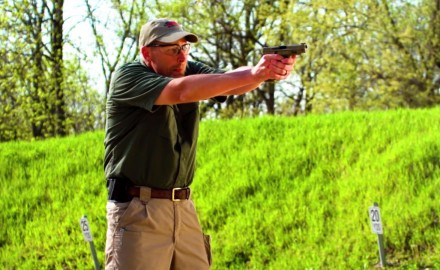 James Tarr runs a great defensive handgun drill: Changing Gears.