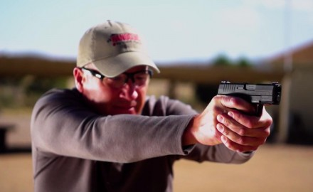 Richard Nance highlights Springfield's concealed carry pistol; the XD-S MOD. 2.