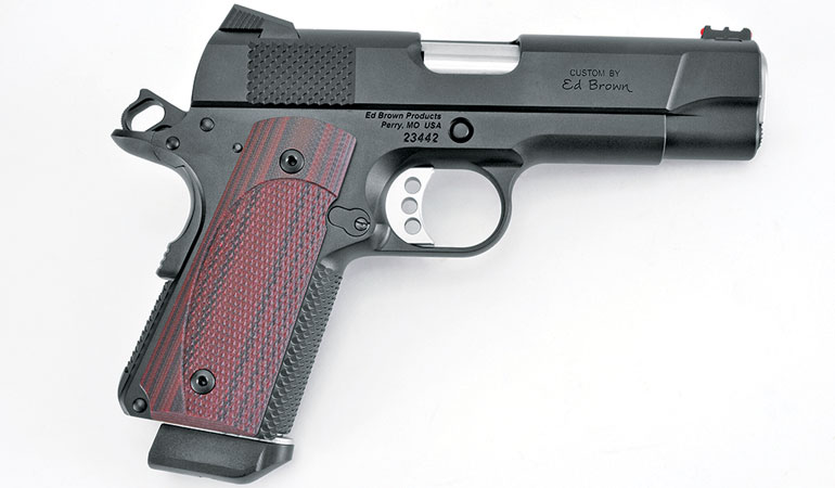 Ed Brown's CCO LW is the best example of a 9mm 1911 carry gun you're going to find.