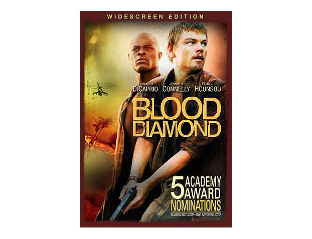 "#5--Blood Diamond (2006)--""Don'™t run, you'™ll only die tired\"""