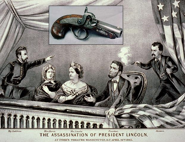 ABRAHAM LINCOLN ASSASSINATION - .44 Caliber Philadelphia Derringer