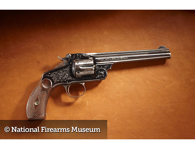 THEODORE ROOSEVELT - Smith & Wesson New Model No. 3