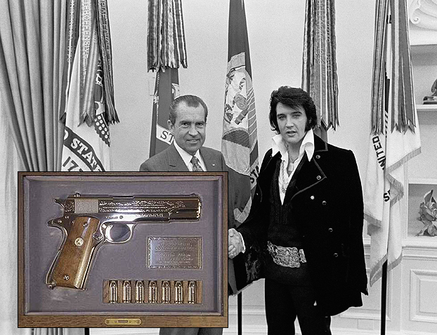 RICHARD M. NIXON - Colt .45