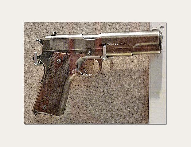 GERALD R. FORD - Colt .45 Semi-Auto