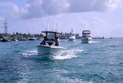 Bahamas Summer Boating Flings