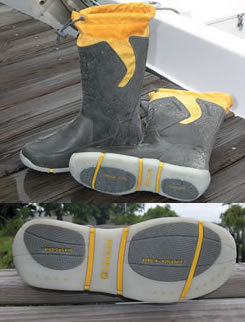Comfort offshore starts with dry feet florida sportsman for Fishing deck boots