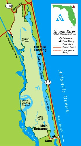 Guana lake fishing florida sportsman for How much is a saltwater fishing license in florida