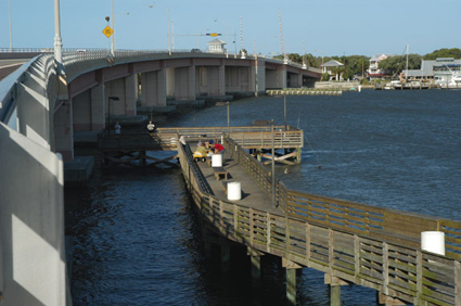 Other Windproof Options Include Bridge Fishing On Both Causeways And Pier Near The City Marina Washington St Riverside Dr