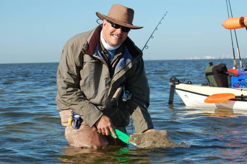 Floundering flatfish need help florida sportsman for Saltwater wade fishing gear