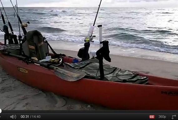Offshore kayak setup florida sportsman for Fishing canoe setup