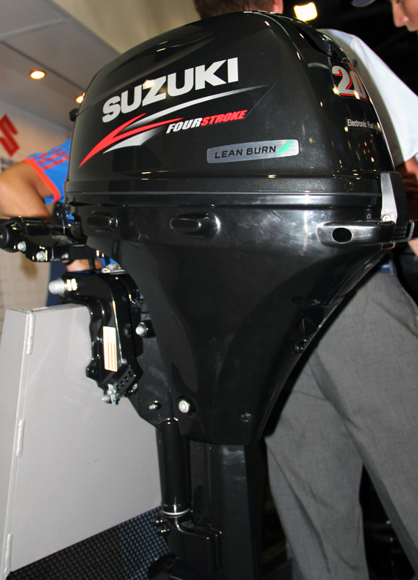 What you missed at the miami boat show florida sportsman for Suzuki outboard motor repair shops