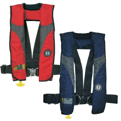 Inflatable life jacket myths florida sportsman for Best inflatable life vest for fishing