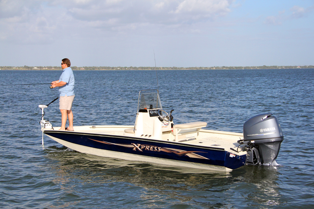 Xpress boats h20 bay florida sportsman for Best places to fish in florida without a boat