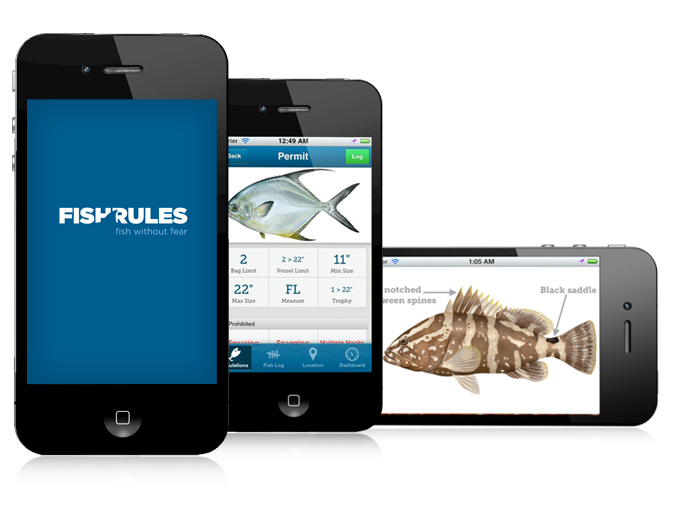 Fish rules app for iphone florida sportsman for Fish rules app