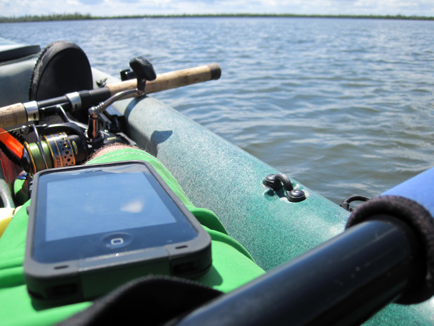 A good match, LifeProof and a kayak on the water.
